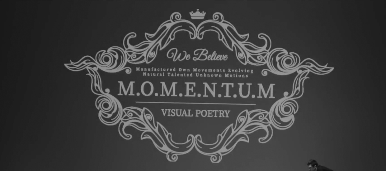 M O M E N T U M – Visual Poetry